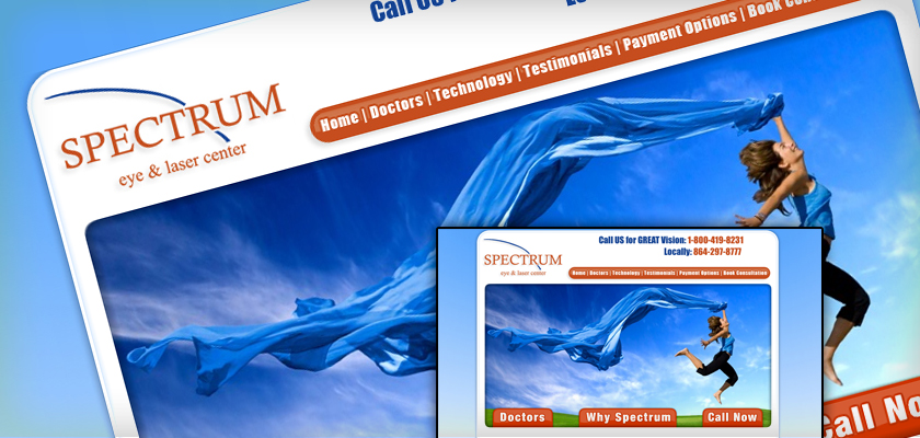 Spectrum Eye Center - Web